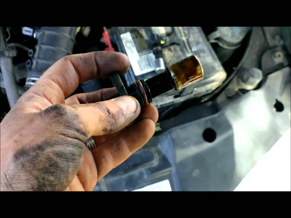 crankshaft position sensor 2000 chevy cavalier - YouTube