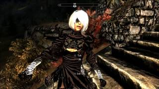 Skyrim Yorha 2b Follower 1 11 Hdt From Youtube - The Fastest of Mp3