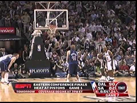Round 2 Game 7 San Antonio  vs  Dallas NBA 2006 Playoffs 2