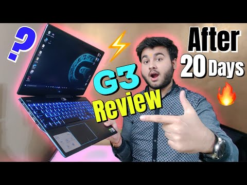 Dell G3 15 3500 Gaming Laptop Full REVIEW in [Hindi] - After 20 Days