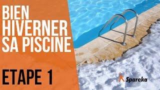 Hivernage de la piscine - Etape 1 : nettoyer le liner et la surface