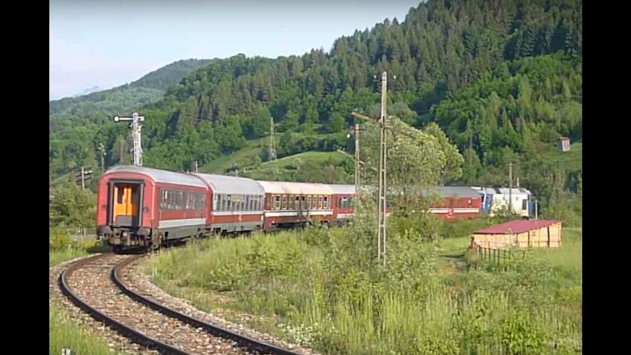 Tren din gara Viseu de Jos