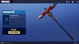 Fortnite Dragon Axe Skin for Pickaxe