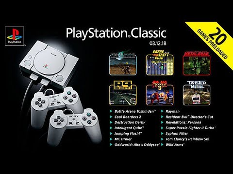 Top 10 PlayStation Classic Games