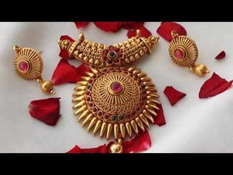 Traditional Gold Jewellery Set Designs (Part 24)