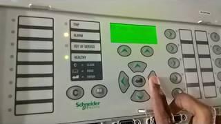 Micom P343 relay testing