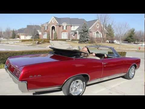 1967 Pontiac GTO Convertible Classic Muscle Car for Sale in MI Vanguard Motor Sales