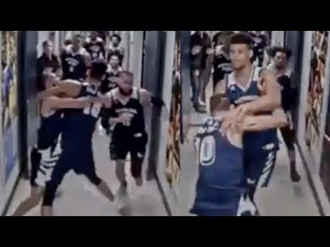 New LEAKED Footage Shows Nevada Players STORMING Utah's Locker Room To FIGHT!