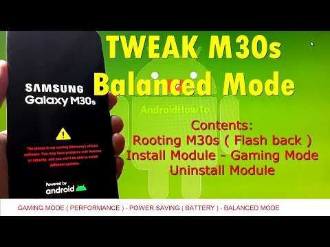 How to Tweak Samsung Galaxy M30s or Any Android Devices for Balanced Mode using Pruh_Tweaks