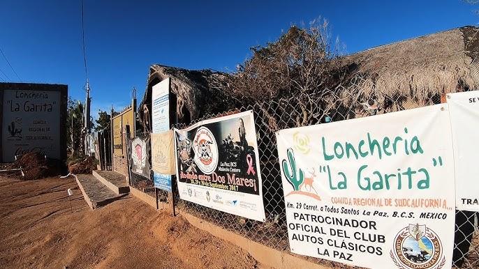 Lonchería La Garita y La Garita del Chilpa Tradición Sudcaliforniana. VLOG9  - YouTube