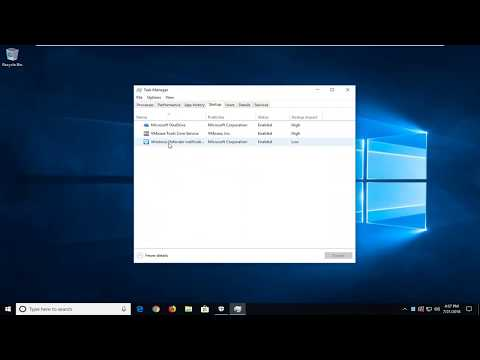 Windows Defender Security Center - Disable Tray Icon In Windows 10