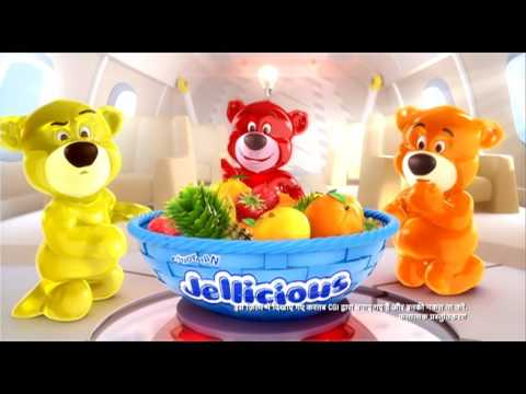 Candyman Jellicious Jelimals 35 Sec Hindi