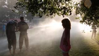 LuxOase, Fireman Water fight