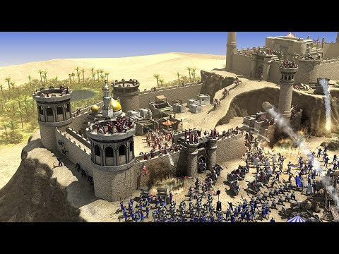 6 GAMES Like Stronghold Crusader HD