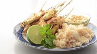 Chicken Satay With Peanut Sauce Recipe - How To Make Authentic Thai-style Chicken Satay