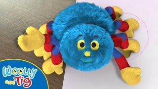 Woolly and Tig - Splashing In Puddles | TV Show for Kids | Toy Spider