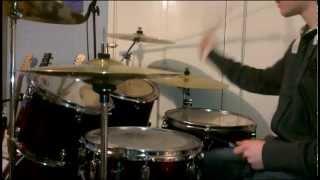 Postman Pat Theme Tune Drum Cover