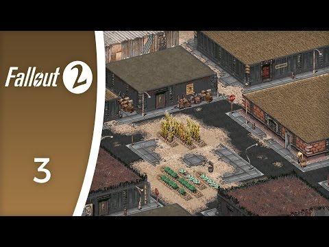 Klamath, town of trappers - Let's Play Fallout 2 #3