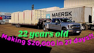 22 year old trucker making over $20k per month, a complete breakdown of all the on road expenses.