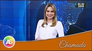 Chamada SBT Brasil - 01/01/2018 - @RachelSherazade