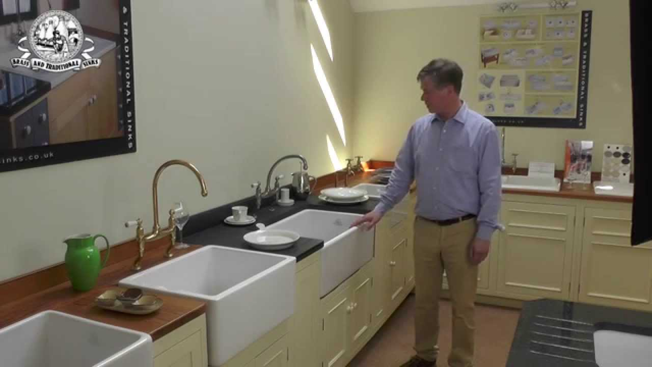 Butler Sinks At Brass Traditional Sinks