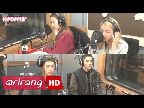 K-Poppin&39; KARD 카드 & Oh NaNa 오나나  Arirang Radio
