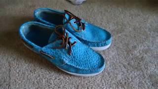 Review of Eastland Aquamarine Boat Shoes