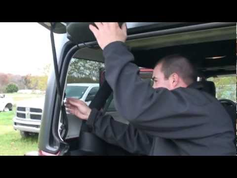 How to take the Hardtop of a Jeep Wrangler WilkesBarre Pa 18702 – Jeep Hardtop Wiring Harness