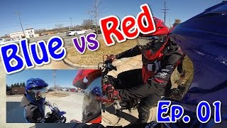 Blue vs Red Ep.01: C2W DUAL VLOG!
