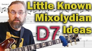 Things You NEED in Your Solos - Mixolydian - Modern Guitar Devices