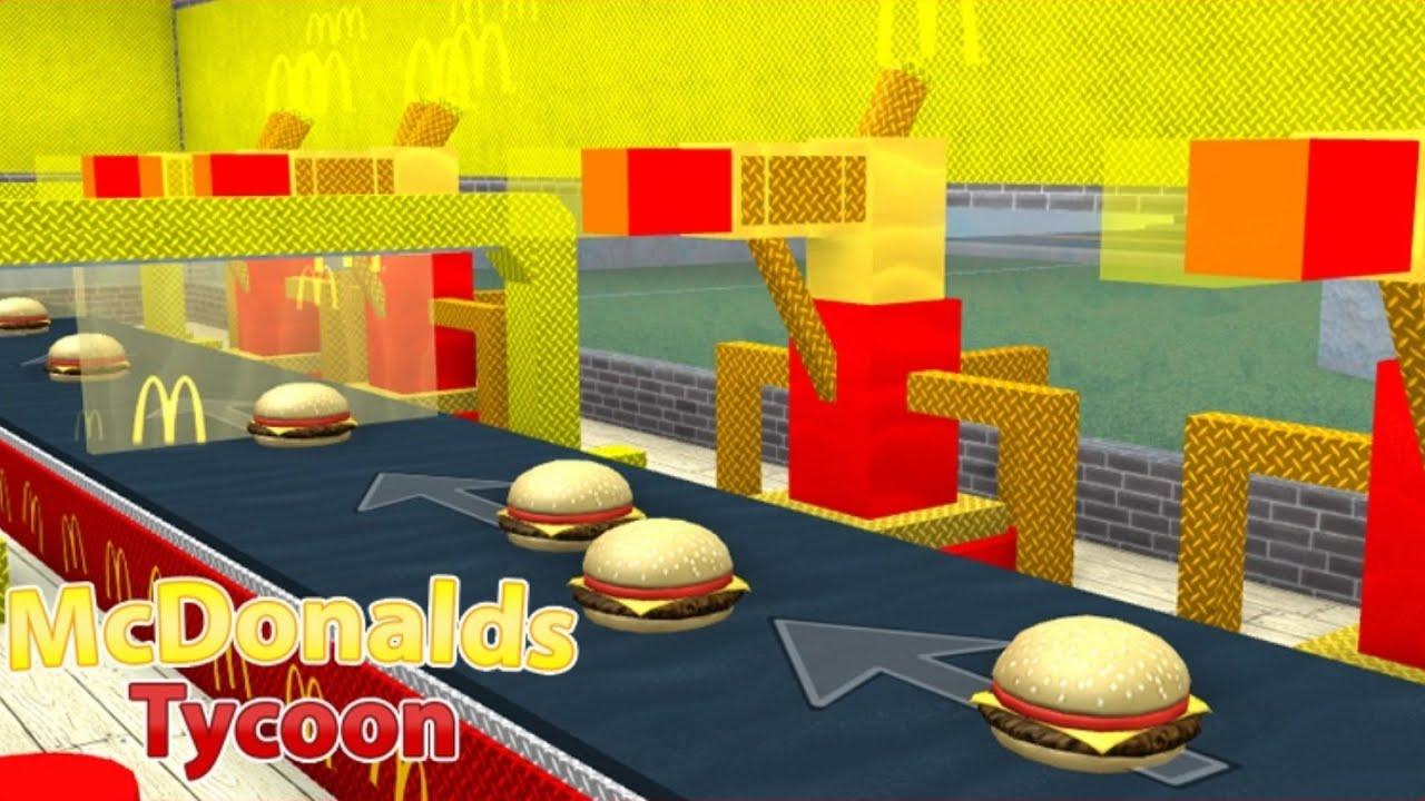 Roblox: FÁBRICA DO MCDONALDS !! - (🍟 McDonalds Obby Tycoon)