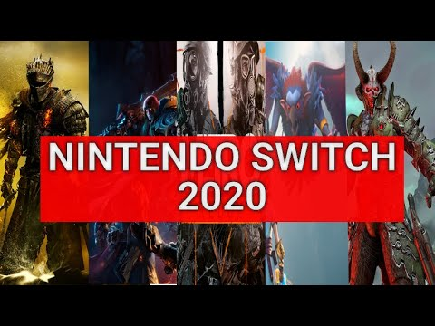 Ожидаемые игры на Nintendo Switch 2020