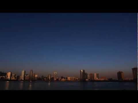 The golden city, Sharjah Timelapse