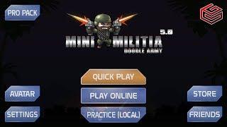 Mini Militia v 4.1 : Top 5 New Hidden Features Update   Doodle Army 2 MiniClip