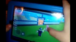 Playing Roblox on my kindle