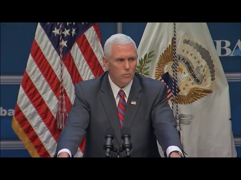 LIVE: Vice President Mike Pence participates in Small Business Association event