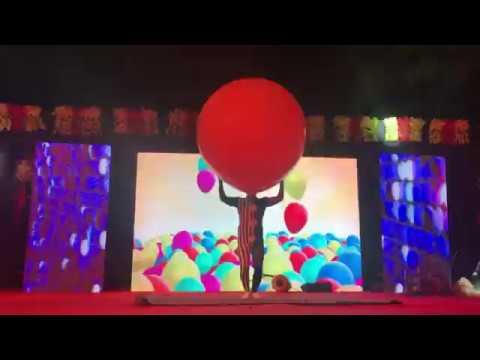 big balloon man, giant balloon act in delhi. india - call- 9910464896