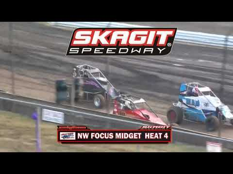 Skagit Speedway NW Focus Midgets 07 27 2018