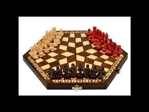 The Three Player Chess Set Very Nice Gift Idea Buy It Now   YouTube