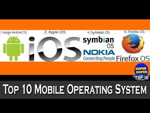 Top 10 Mobile Operating System - HD Latest 2018