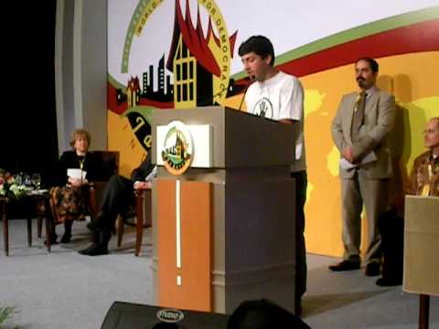 Speech by Venezuelan student leader to World Movement for Democracy 6th Assembly - excerpt