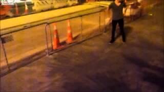 drunk flip fail Thumbnail