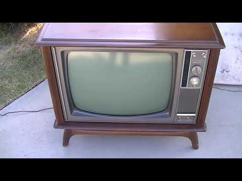 1968 RCA CTC38 Color Hybrid TV Analysis