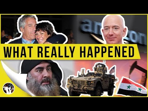 Ghislaine Maxwell Is Buddies With Bezos?! America Takes The Oil