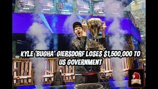Kyle 'Bugha' Giersdorf perd 1 500 000 $ de ses gains de la Coupe du monde Fortnite en raison de l'impôt du gouvernement américain