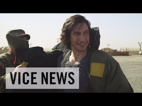Adam Driver Tries on a Bomb Suit in Kuwait (Extra Scene from