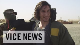 Adam Driver Tries on a Bomb Suit in Kuwait (Extra Scene from 'Arts in the Armed Forces')