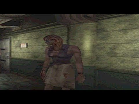 Resident Evil 3 - Female Zombie / Hardcore + Randomizer [ PS1 MOD ]