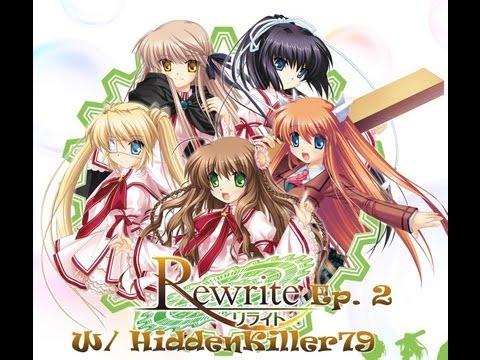Rewrite Visual Novel ~ Episode 2 ~ Hometime Fun (W/ HiddenKiller79)