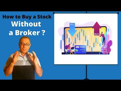 How to Buy a Stock Without a Broker?
